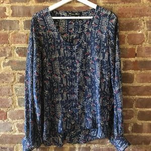 Vintage Silk Blouse by Winter Kate